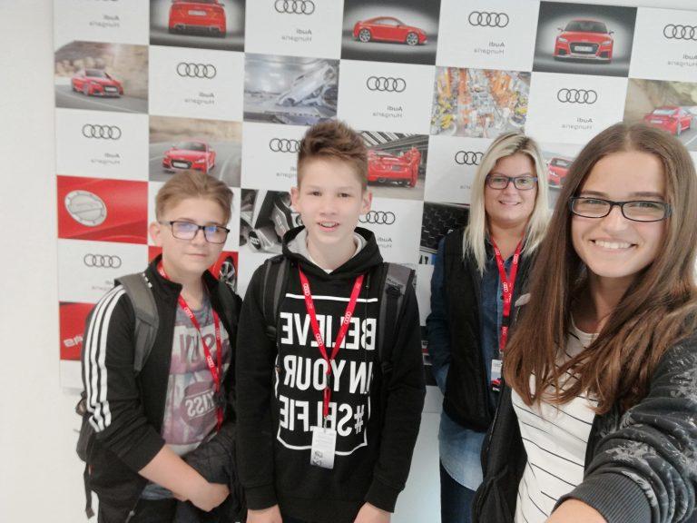 Üzemlátogatás a győri Audi gyárban